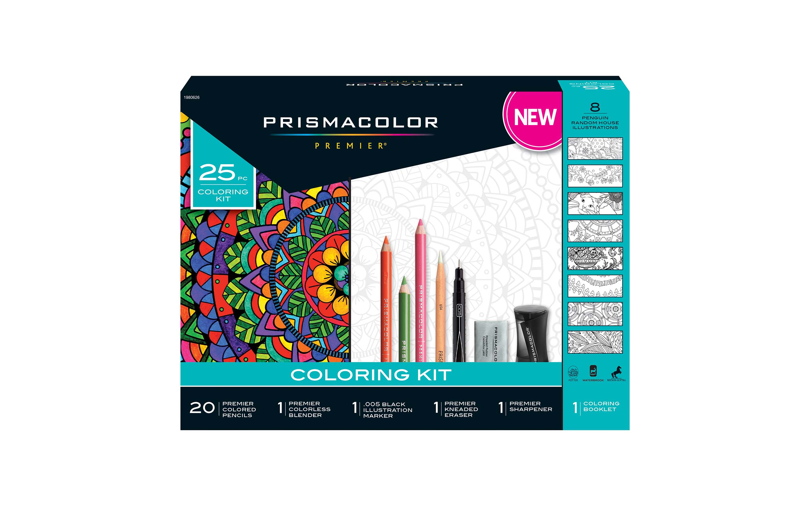 PrismacolorR Celebrates National Relaxation Day With The Launch Of A New 29 Piece Adult Coloring Kit