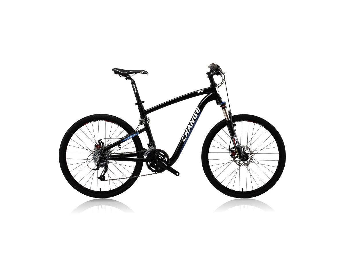 CHANGE Bike DF-609: The performance mountain bike that rides inside.
