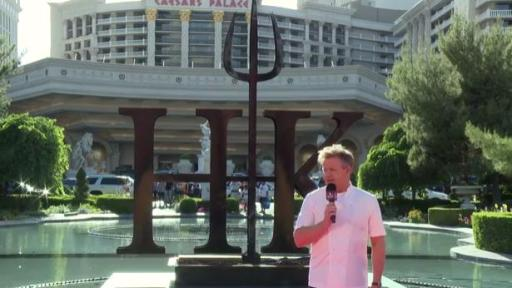 chef gordon ramsay announces the worlds first hells kitchen restaurant at caesars palace las vegas - Hells Kitchen Vegas