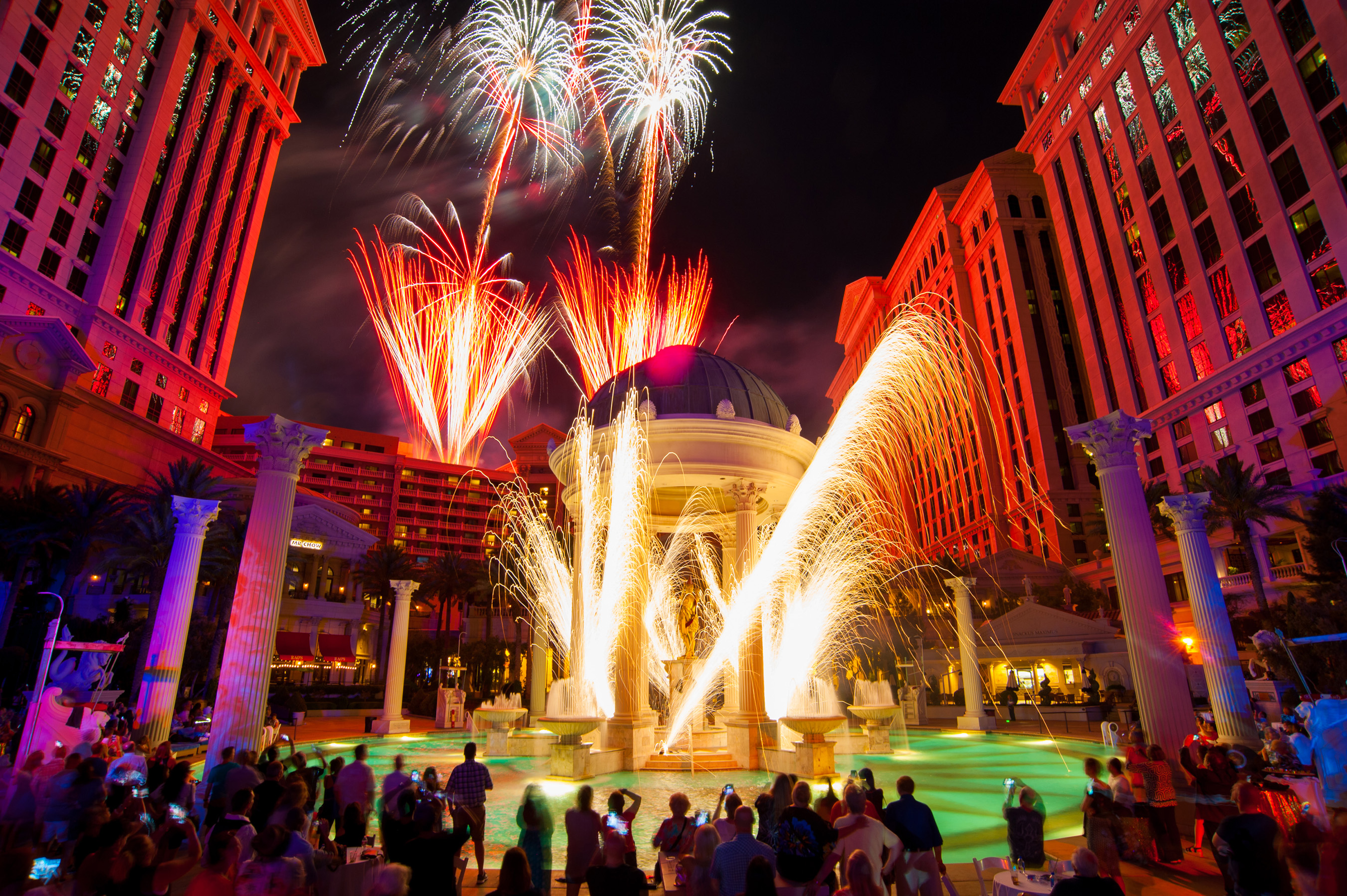 caesars palace celebrates 50th anniversary weekend with