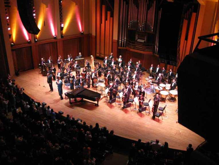 Soloist and composer will perform with an orchestra at Benaroya Hall.