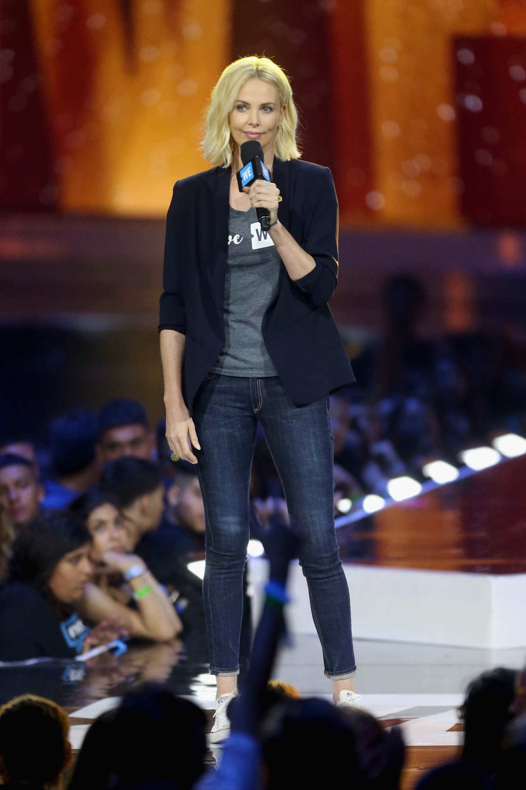 tune in to we day and join charlize theron demi lovato selena