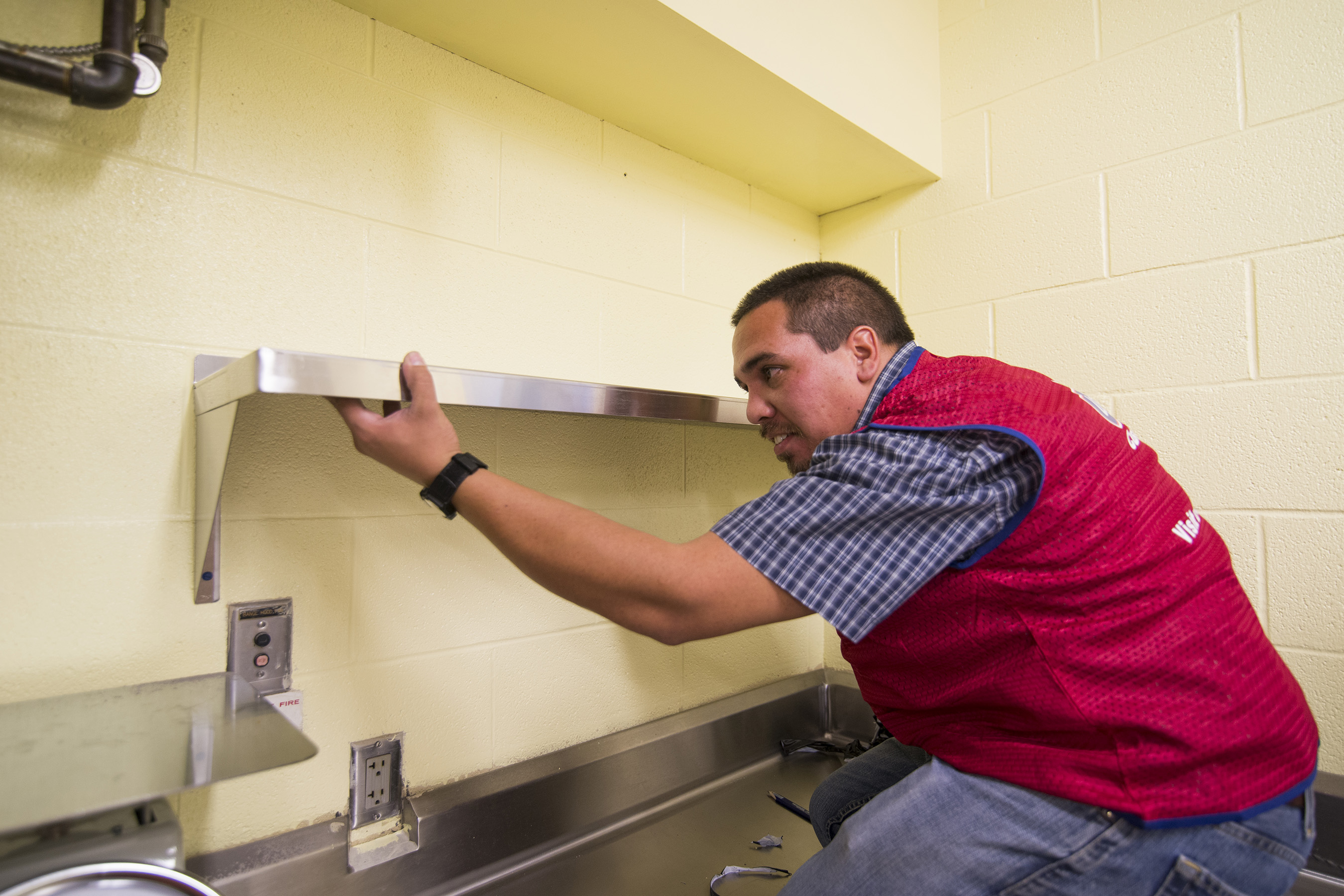 Lowe's supports a past renovation effort at the Boys & Girls Clubs of Topeka.