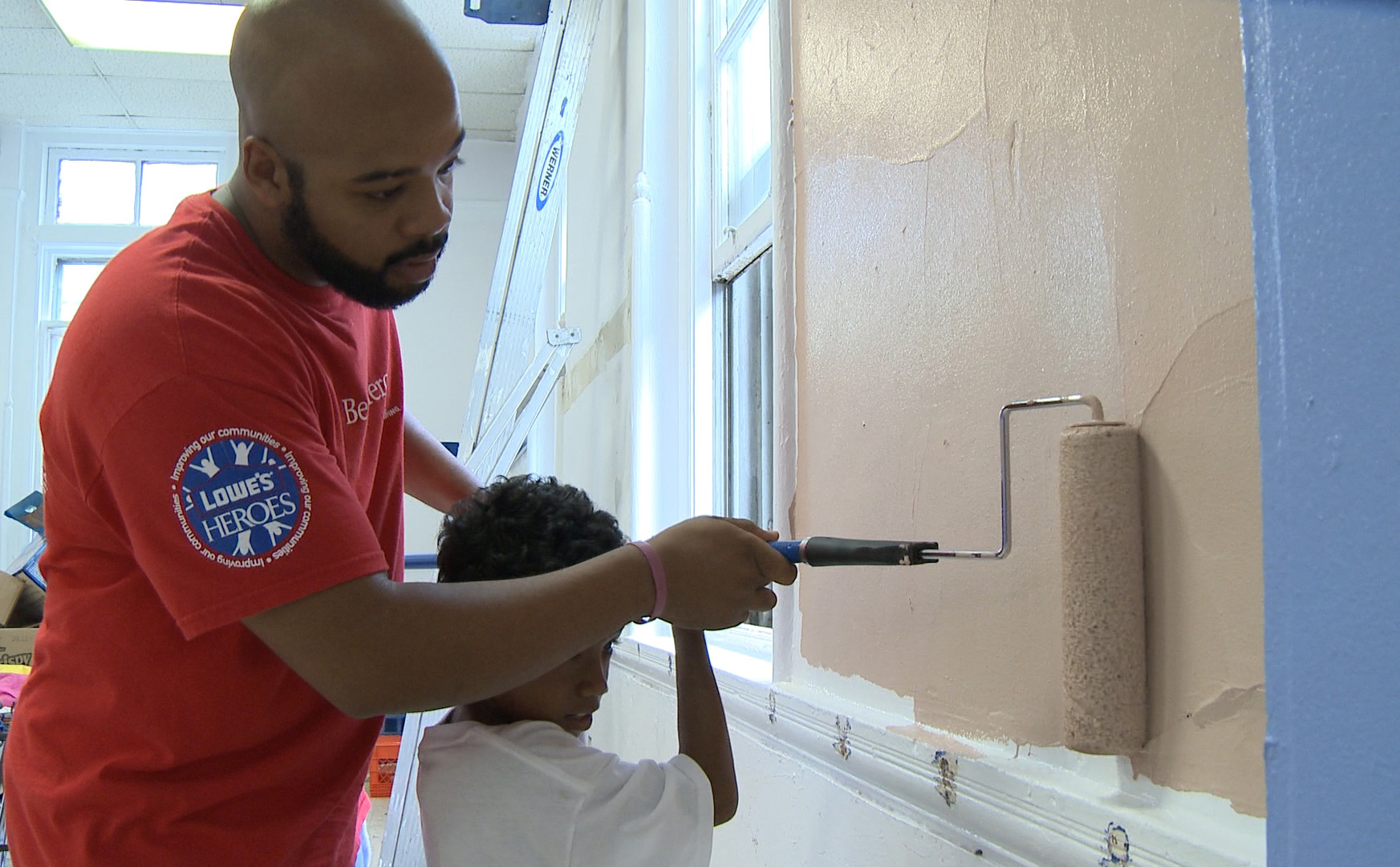 Lowes Wall Murals lowe's and boys & girls clubs of america build pride at 50 clubs