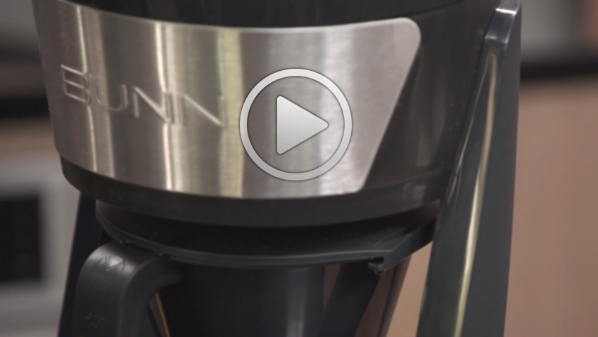 Bunn Coffee Maker Programmable : New BUNN 10-cup Programmable Coffeemaker Helps Coffee Enthusiasts Achieve the Perfect Cup at Home