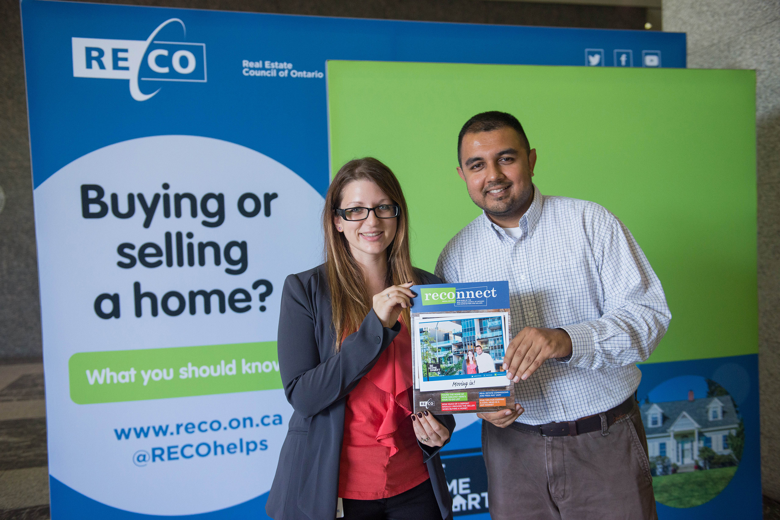 Buying your first home together reco website - Be Home Smart Booth