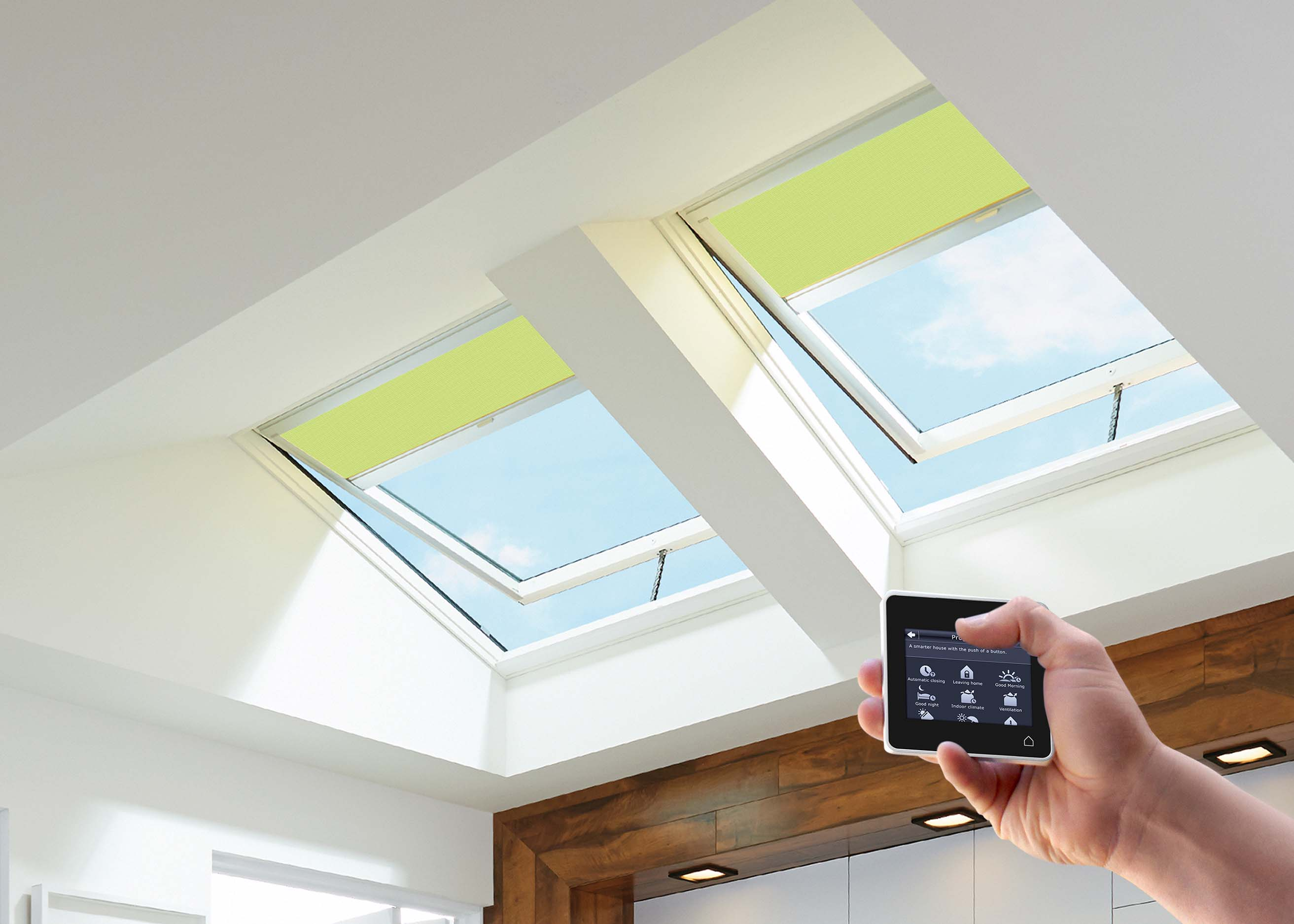 Homeowners save at tax time and every year after with for Velux solar powered blinds