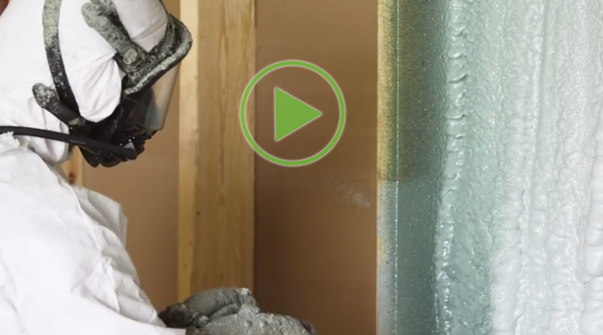 Icynene spray foam insulation can help cool your home heating bills how to avoid a spray foam insulation nightmare solutioingenieria Gallery
