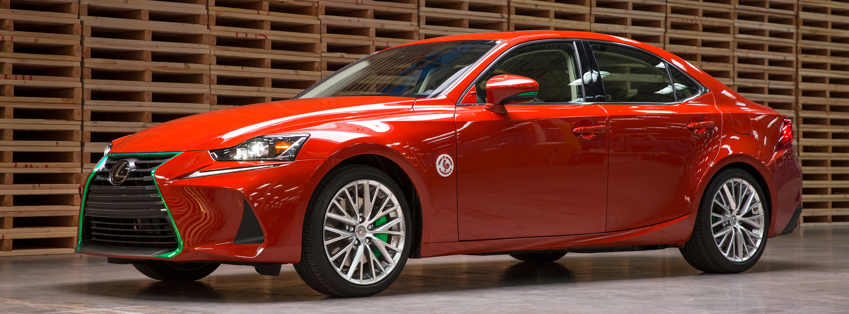 Lexus Serves up the Sriracha IS: Making a Hot Car Spicy