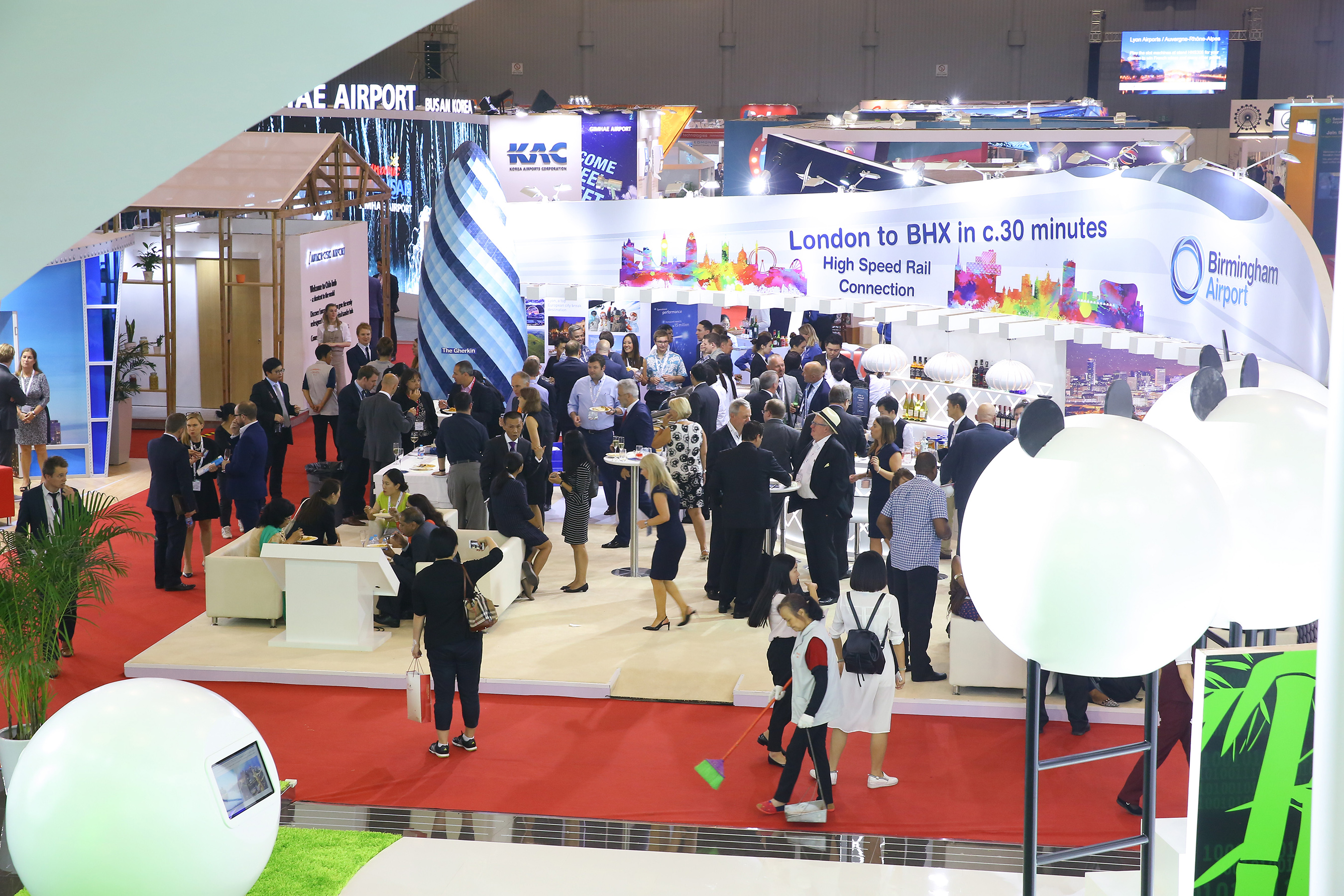D Exhibition China : Western china international expo center ready for the wcif