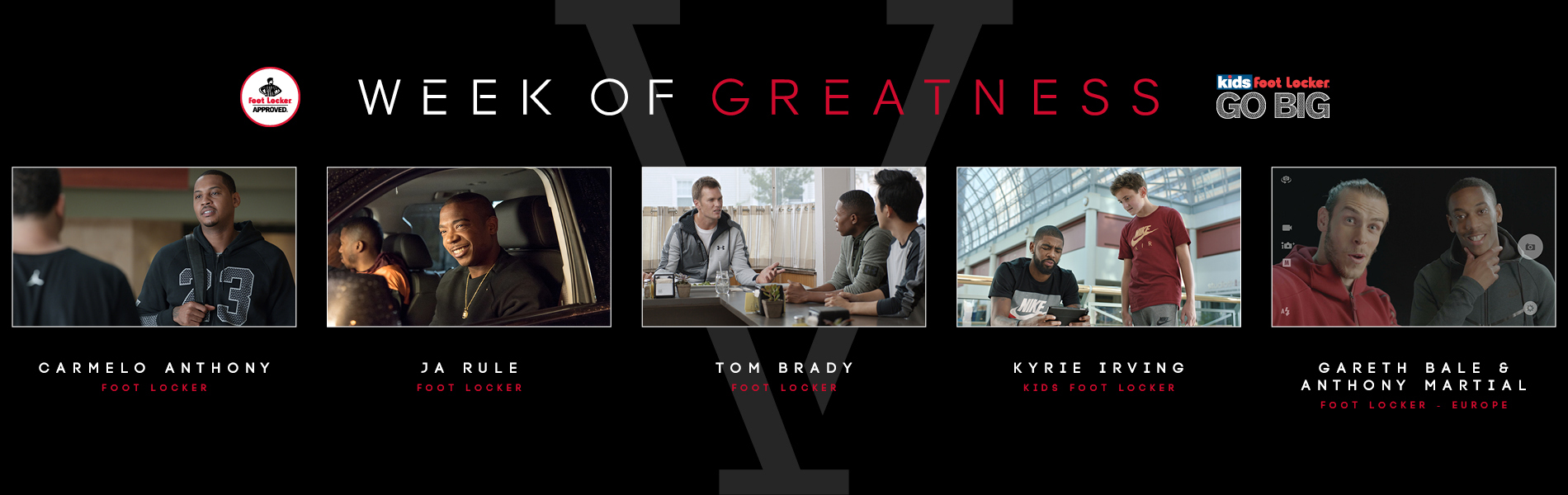 42113c2ed6 FOOT LOCKER AND KIDS FOOT LOCKER KICK OFF FIFTH-ANNUAL 'WEEK OF GREATNESS'  WITH NEW SPOTS AND THE HOTTEST PRODUCT