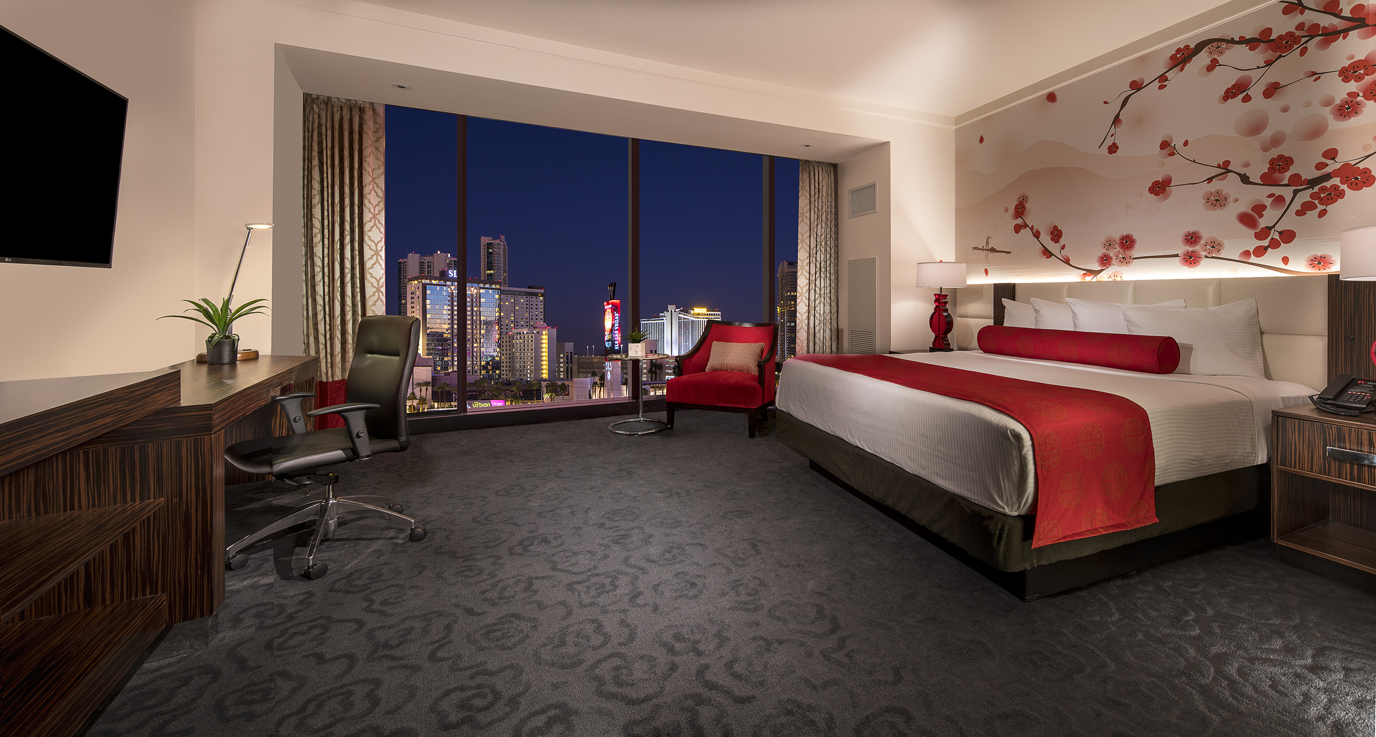 Rooms: Lucky Dragon Hotel & Casino In Las Vegas Opens Its Doors To The World With Grand Opening