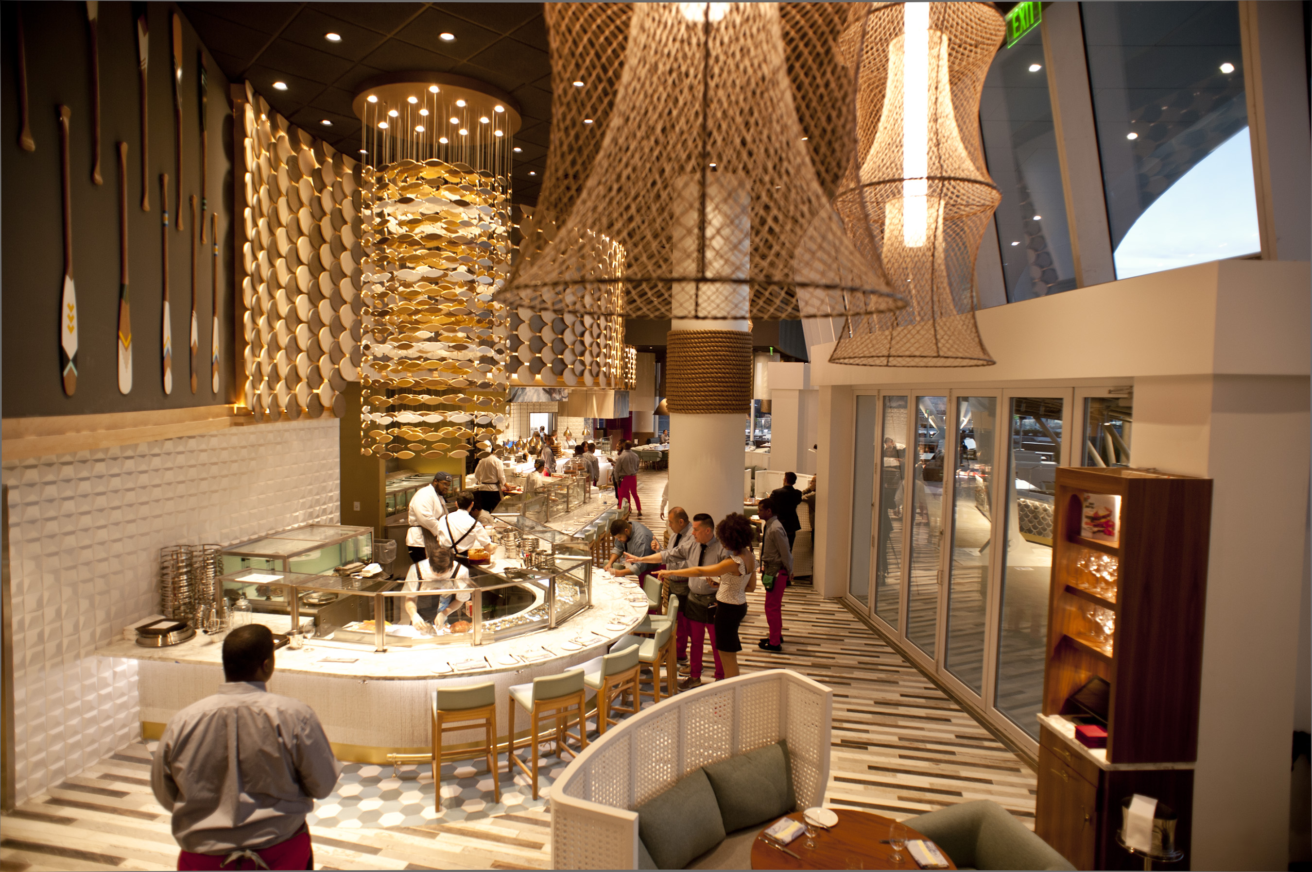 Vegas on the potomac mgm national harbor opens today for Fish by jose andres