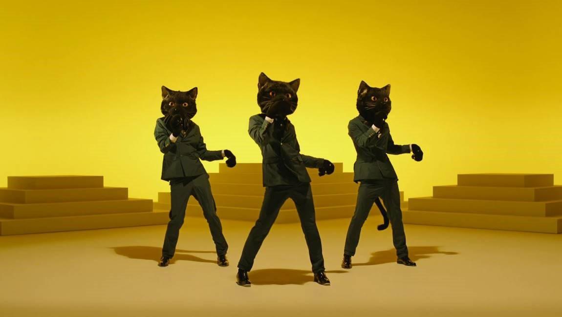 Neko Funjatta Dancing Black Cats