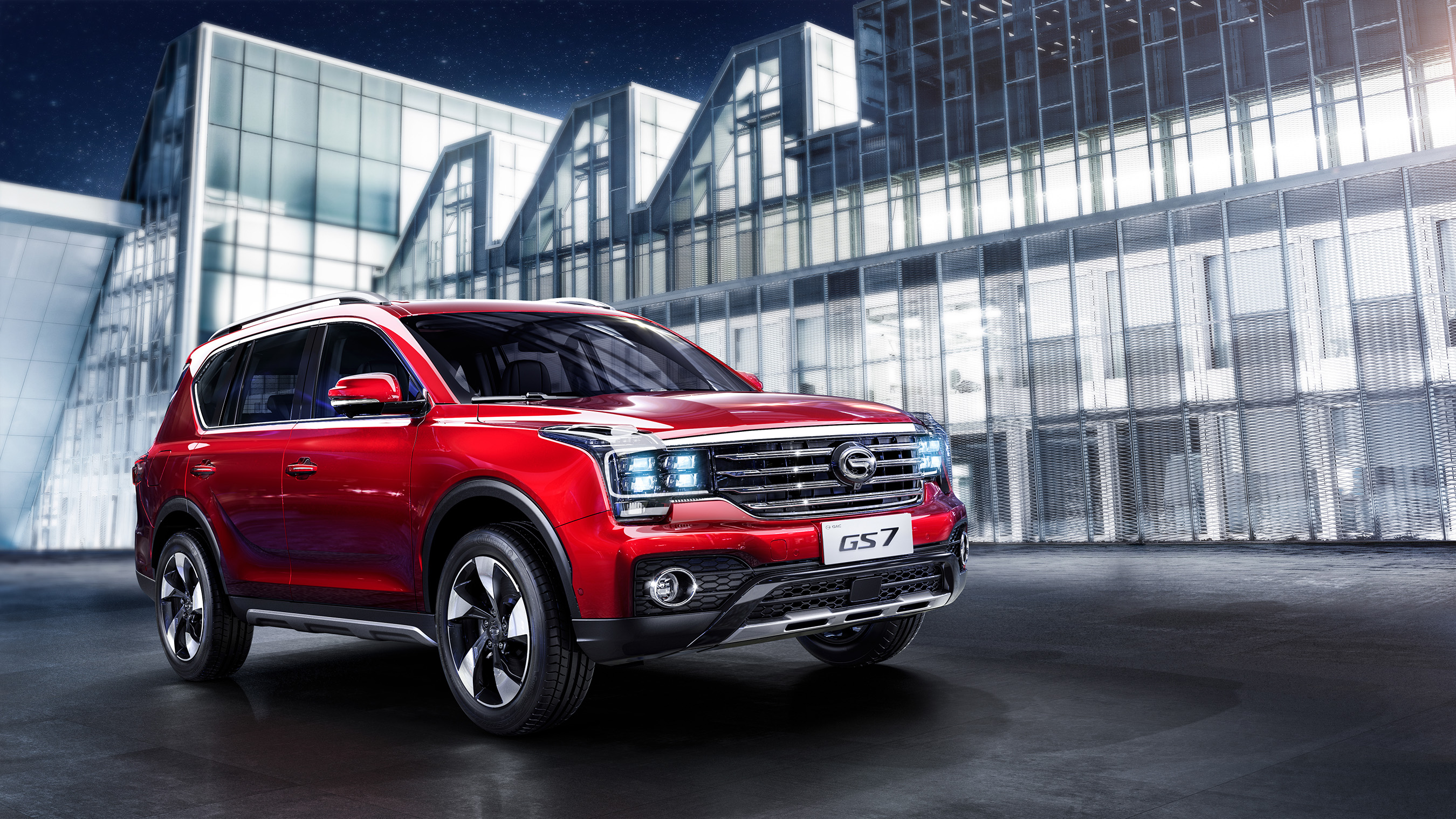 gac motor reinvents suv with transcendent gs7 at 2017 naias. Black Bedroom Furniture Sets. Home Design Ideas
