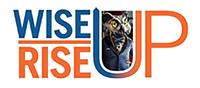 Wise Up Rise Up logo