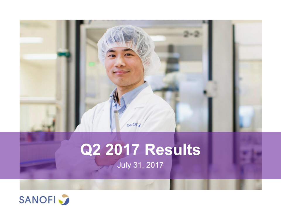 Sanofi Q2 2017 Earnings Results Presentation