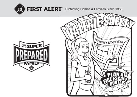 Valerie Safety Activity Sheet