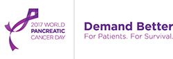 World Pancreatic Cancer Awareness Day logo