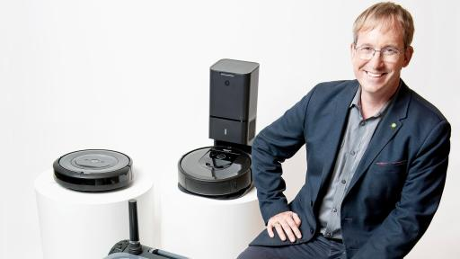 Colin Angle, Chairman, CEO and Founder of iRobot.