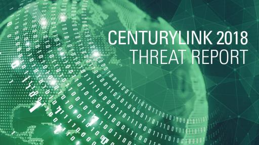 Click to link to CenturyLink 2018 Threat Report
