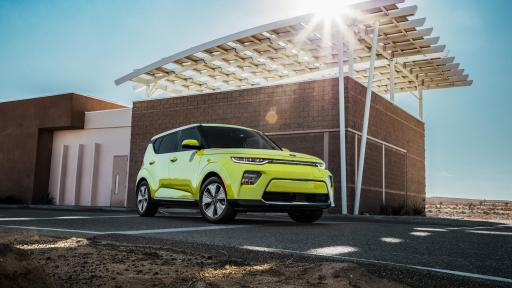 All-new 2020 Soul EV is imbued with unique styling that provides the car a flair of its own.