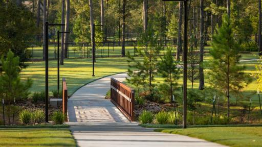 Lakeland Village in Bridgeland features trails that are a part of a 250-mile system.