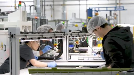 Home-grown innovation is at the core of these 19-percent efficient P-Series solar panels from SunPower, assembled at the company's U.S. manufacturing facility to meet strong,