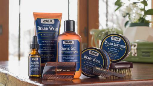 The launch of Wahl's beard care products coincide with an entire lineup of personal care needs, including shaving cream, shampoo and a body wash; in total the line includes 12 new products.