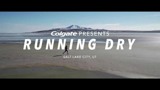 Ultra runner, Mina Guli, talks water scarcity at the Great Salt Lake.