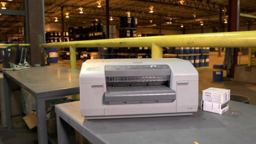 The Epson ColorWorks C831 helps increase efficiency and maintain globally harmonized system (GHS) compliance.