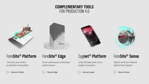 Schematic of complementary tools and products to work with ForeSite Edge