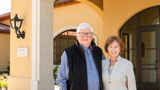 Grace & Ken Evenstad, Co-Founders and Owners of Domaine Serene and Owners of Chateau de la Crée