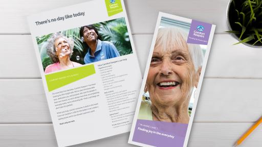 Comfort Keepers Brochures