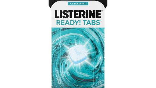 Introducing the NEW LISTERINE(R) READY! Tabs