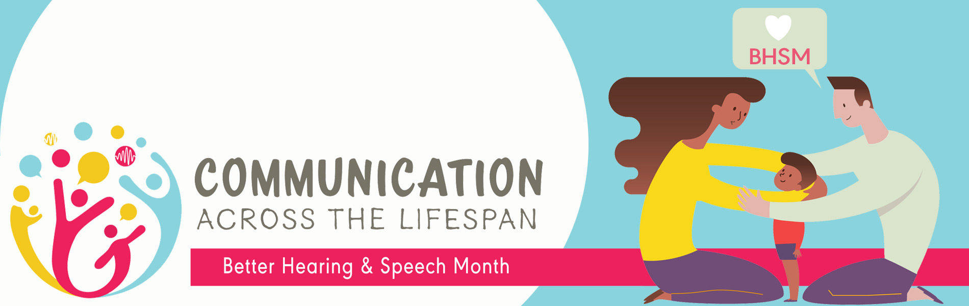 Communication across the lifespan graphic