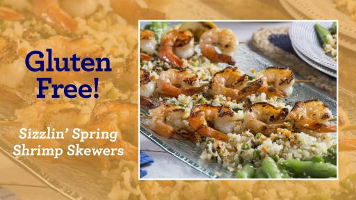 Sizzlin' Shrimp Skewers Recipe
