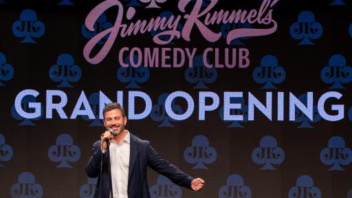 Jimmy Kimmel doing stand up