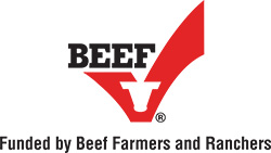 Beef Funded By Farmers & Ranchers logo