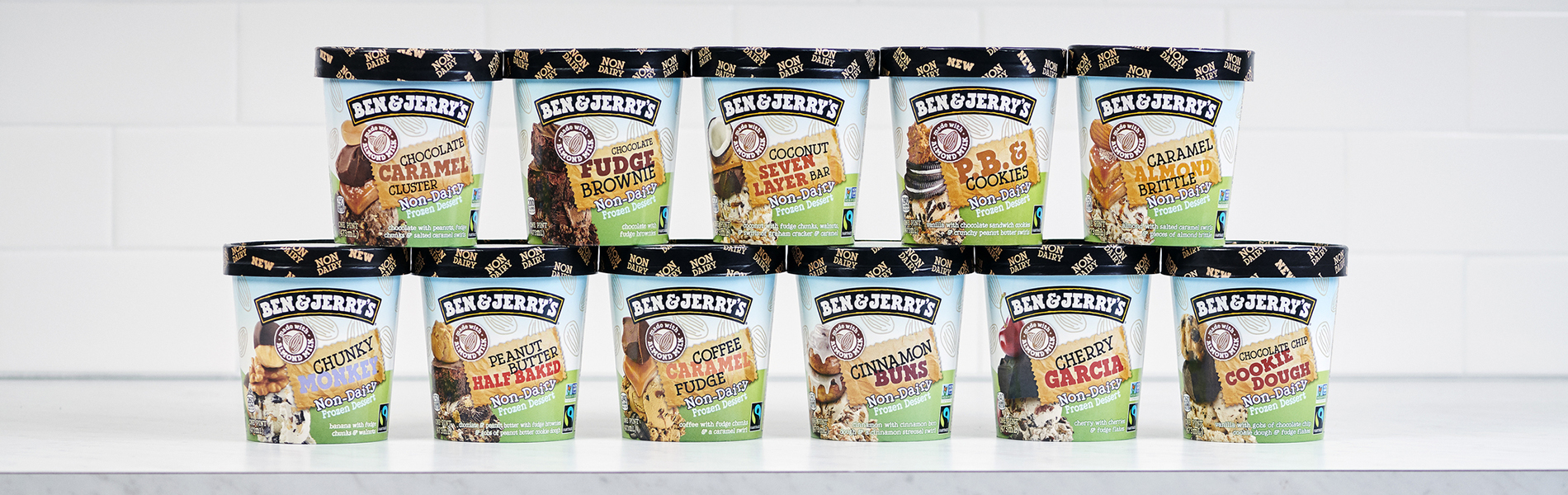 Ben & Jerry's Non-dairy lineup