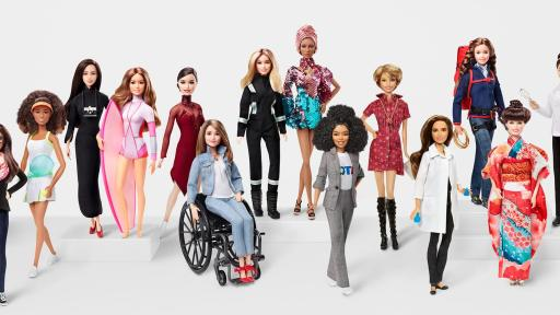 barbie doll lineup