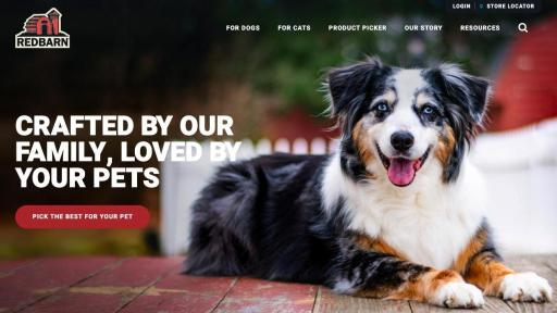 Redbarn® Pet Products Launches New Website Focused on Educating Pet Parents