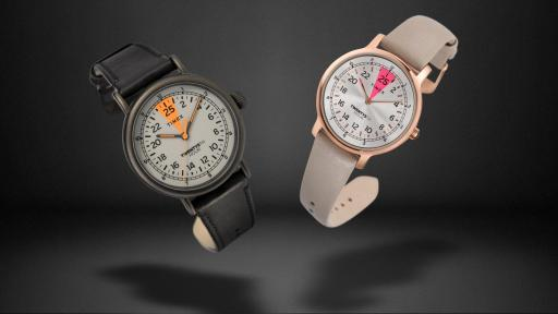 Men's and women's 25th Hour Timex watches