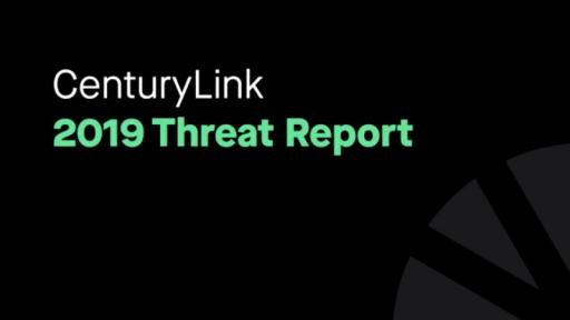 Play Video: Mike Benjamin introduces the CenturyLink 2019 Threat Report