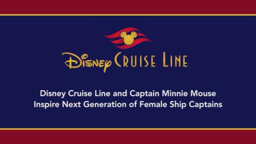 Disney Cruise Lines Captain Minnie Mouse Media Reel