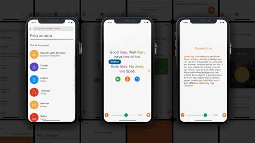 Offering consumers new personalized, adaptive, conversation-based lessons in over 70 languages for web, iOS, and Android, Mango recognizes the power of technology to bridge diverse communities and cultures.