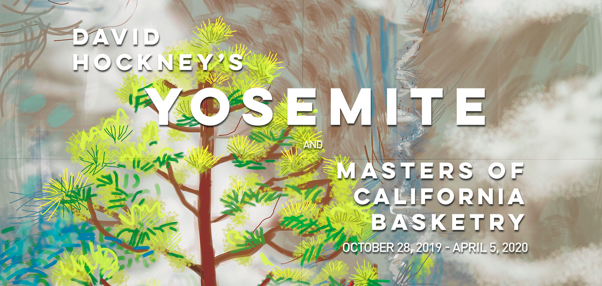 David Hockney's Yosemite