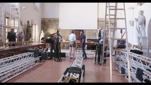 Behind the scenes of the First Commissions project in Florence