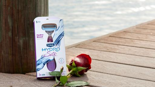 With a shave so comfortably close, you'll want to buy yourself roses! The Schick® Hydro Silk® razor has 5 Curve Sensing® blades that give you incredible closeness, while following the natural shape of your body… helping you fall more in love with you!