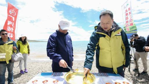 Yu-Jun, president of GAC Motor, joins the Wetland Ambassador Program in Three-River-Source National Park